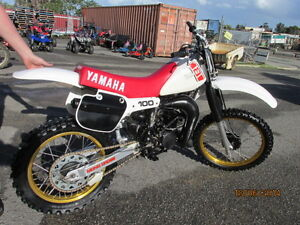 WANTED - 1978 TO 1984 YAMAHA YZ 100