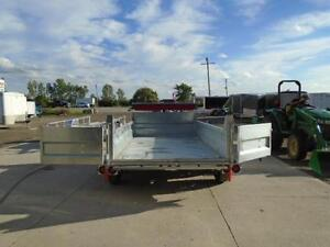 HOT DIPPED GALVANIZED 6X12 DUMP TRAILER - CANADIAN MADE! London Ontario image 2