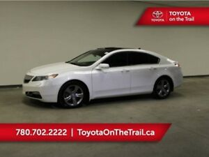 2012 Acura TL TECH; LEATHER, AWD, SUNROOF, NAV, HEATED SEATS, SM