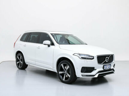 2016 Volvo XC90 256 MY17 D5 R-Design (AWD) White 8 Speed Automatic Geartronic Wagon Jandakot Cockburn Area Preview