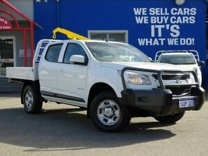 2015 Holden Colorado RG MY15 LS Crew Cab 4x2 White 6 Speed Sports Automatic Cab Chassis Welshpool Canning Area Preview