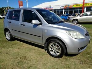 2006 Mazda 2 DY10Y2 Neo Silver 5 Speed Manual Hatchback Kippa-ring Redcliffe Area Preview