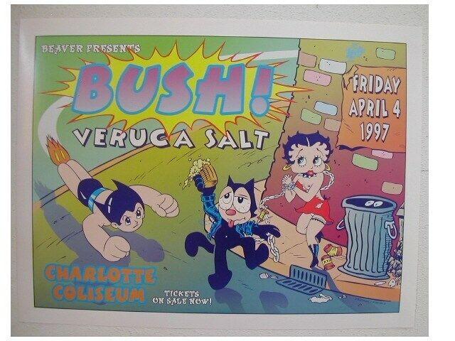 Bush Veruca Salt Handbill Poster