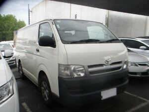 2007 Toyota Hiace TRH221R MY08 High Roof Super LWB White Automatic Van Moorabbin Kingston Area Preview