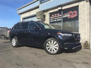 2016 Volvo XC90 T6 Momentum AWD GPS CUIR TOIT PANORAMIQUE
