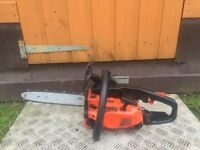 Very Powerful Echo Chainsaw With New Chain For Only £90 - Petrol