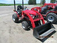 Mahindra Emax 25 with loader- DEMO..crazy price