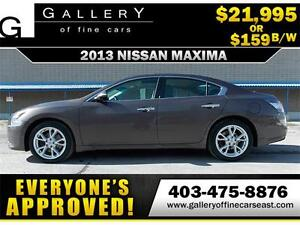 2013 Nissan Maxima 3.5 V6 SV $159 BI-WEEKLY APPLY NOW DRIVE NOW