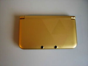 ****LIMITED ZELDA EDITION GOLD NINTENDO 3DS XL IN THE BOX!*****