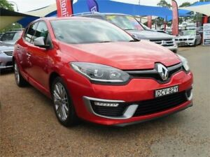 2016 Renault Megane III B95 Phase 2 GT-Line EDC Red 6 Speed Sports Automatic Dual Clutch Hatchback Minchinbury Blacktown Area Preview