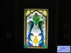 Fabrication et réparation de vitrail à prix raisonnable.