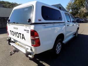 2012 Toyota Hilux KUN26R MY12 SR (4x4) White 4 Speed Automatic Dual Cab Pick-up West Gosford Gosford Area Preview