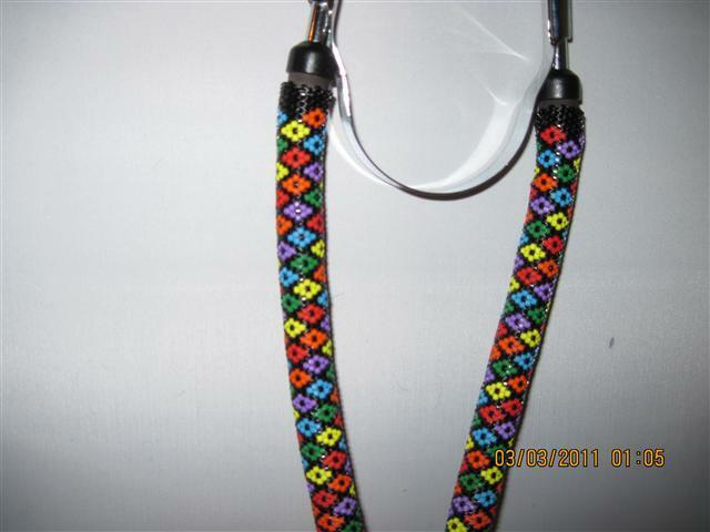 Hand Beaded Stethoscope made by Designer..THIS IS A SAMPLE/DEMO ONLY..