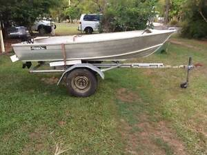 11ft Stacer on trailer with 4 hp Landsborough Caloundra Area Preview