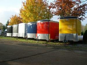 Cargomate enclosed cargo trailers