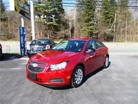2011 CHEVROLET CRUZE LT TURBO...LOADED!! ONLY $129 BWKLY!!