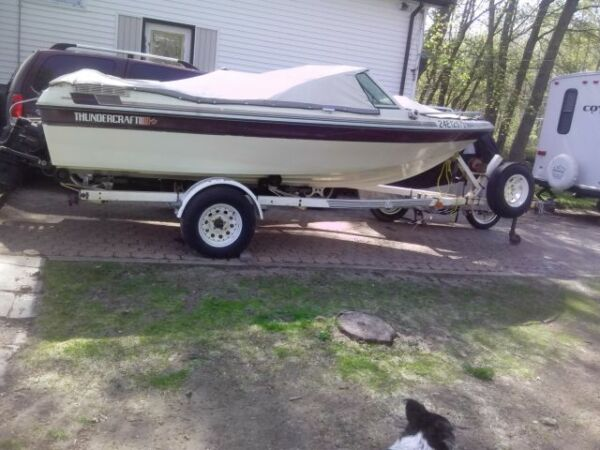 Used 1988 Thunder Craft Boats Bow Rider