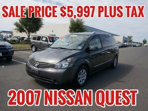 NISSAN QUEST - SAFETIED AND E-TESTED  - $5,997 PLUS TAX