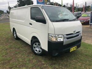 2014 Toyota HiAce TRH201R MY12 Upgrade LWB White 4 Speed Automatic Van Dapto Wollongong Area Preview
