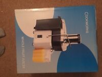 Cookworks juicer boxed and brand new