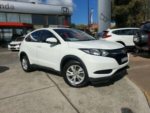2015 Honda HR-V MY15 VTi White 1 Speed Constant Variable Hatchback Hornsby Hornsby Area Preview