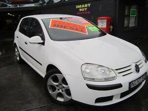 2006 Volkswagen Golf 1K 2.0 TDI Comfortline White 6 Speed Direct Shift Hatchback Greenacre Bankstown Area Preview