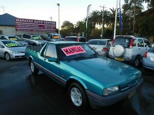 1994 Ford Falcon XG GLI Longreach Green 5 Speed Manual Utility Waratah Newcastle Area Preview