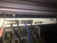 3COM 4500G 24 port gigabit rack mount switch