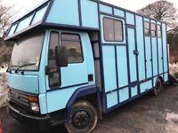Ford Iveco 811 Horsebox, 7.5 ton