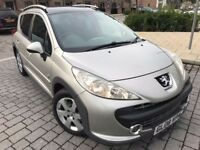 Peugeot 207 SW 1.6 HDi Outdoor Estate*1 owner*Diesel*Manual*New Mot*Just serviced*Timing belt*