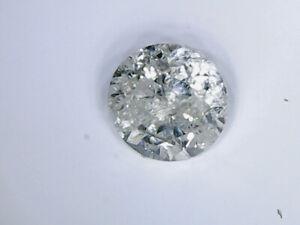 Lot de 6 diamant de 0.1 ct ch. 1 couleur champagne 5 claire