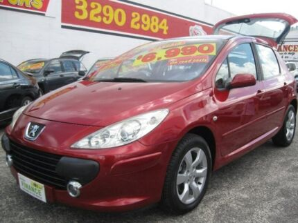 2006 Peugeot 307 T6 CC Dynamic Red 4 Speed Sports Automatic Cabriolet