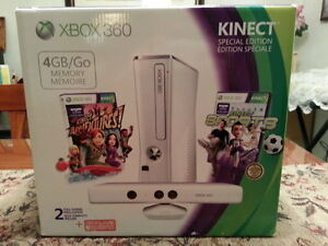 (VERY RARE!) BRAND NEW FACTORY SEAL XBOX 360 WHITE SPECIAL ED.