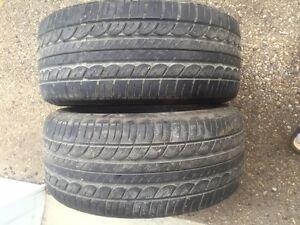 225/50/15 Dunlop  GT Qualifier tires $40.00 ea