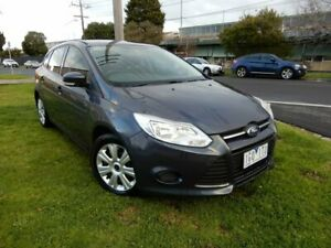 2012 Ford Focus LW Ambiente PwrShift Grey 6 Speed Sports Automatic Dual Clutch Hatchback Moorabbin Kingston Area Preview