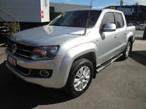 2012 Volkswagen Amarok 2H MY12.5 TDI400 Trendline (4x4) Silver 6 Speed Manual Dual Cab Chassis Coopers Plains Brisbane South West Preview