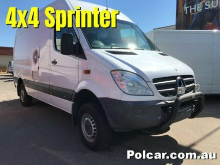 2010 Mercedes-Benz Sprinter 4WD High Roof NCV3 316CDI White Manual Woodville Park Charles Sturt Area Preview