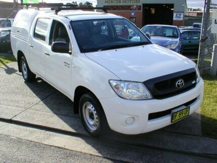 2010 Toyota Hilux GGN15R 09 Upgrade SR White 5 Speed Automatic South Windsor Hawkesbury Area Preview