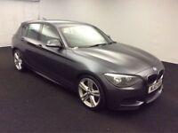 BMW 1 SERIES 2.0 120D M SPORT 5d AUTO 181 BHP (grey) 2012