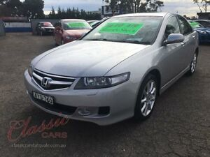 2005 Honda Accord MY05 Upgrade Euro Luxury Silver 5 Speed Sequential Auto Sedan Lansvale Liverpool Area Preview