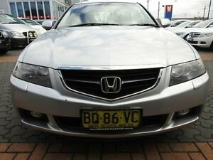 2003 Honda Accord Euro Luxury Silver 5 Speed Sequential Auto Sedan Croydon Burwood Area Preview