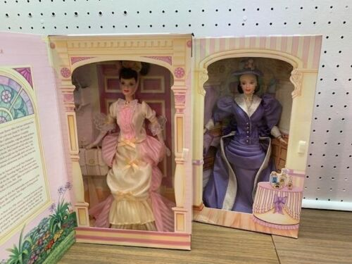 MATTEL-2 DOLLS-MRS. P.F.E. ALBEE-AVON EXCLUSIVES-FIRST & SECOND IN SERIES-NRFB