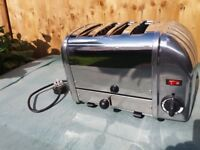 Dualit Bun Toaster (4 Bun, Metallic Silver)