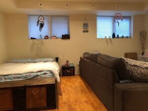 Large Studio basement for rent near Finch Ave and Islington