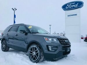 2016 Ford Explorer Sport, 365HP Ecoboost, LOADED, DVD, $244 Bi-W