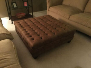 Large Brand New Ottoman Used For Staging Cost over$1000,$495