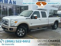 2011 Ford F-250 Lariat 4x4 SD Crew Cab 8 ft. box 172 in. WB