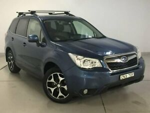 2013 Subaru Forester S4 MY13 2.5i-S Lineartronic AWD Blue 6 Speed Constant Variable Wagon