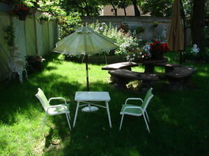 Patio set for kids