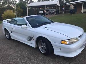 1994 FORD MUSTANG SALEEN CONVERTIBLE 3.8 V/6 AUTOMATIC R/H DRIVE Rochedale South Brisbane South East Preview